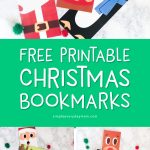 Free Printable Christmas Coloring Page Bookmarks | Download these three bookmarks of Santa, Rudolph and a penguin. They're simple and fun for kids.