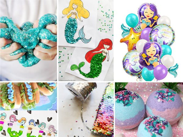 mermaid party ideas #mermaid #partyideas #kidspartyideas