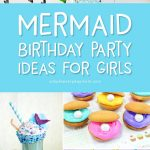 Mermaid Party Ideas | Plan the best DIY mermaid birthday party with these fun ideas that include decorations, food ideas, invites, games, favors, a cake, activities and more! #mermaidparty #mermaid #kids #kidsparty #kidspartyideas #childrensbirthday #birthday #birthdayparty #partyplanning #partydecor #girlsparty