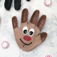 Salt Dough Handprint Ornaments For Christmas