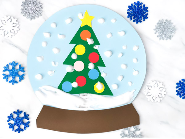 snowglobe craft for kids