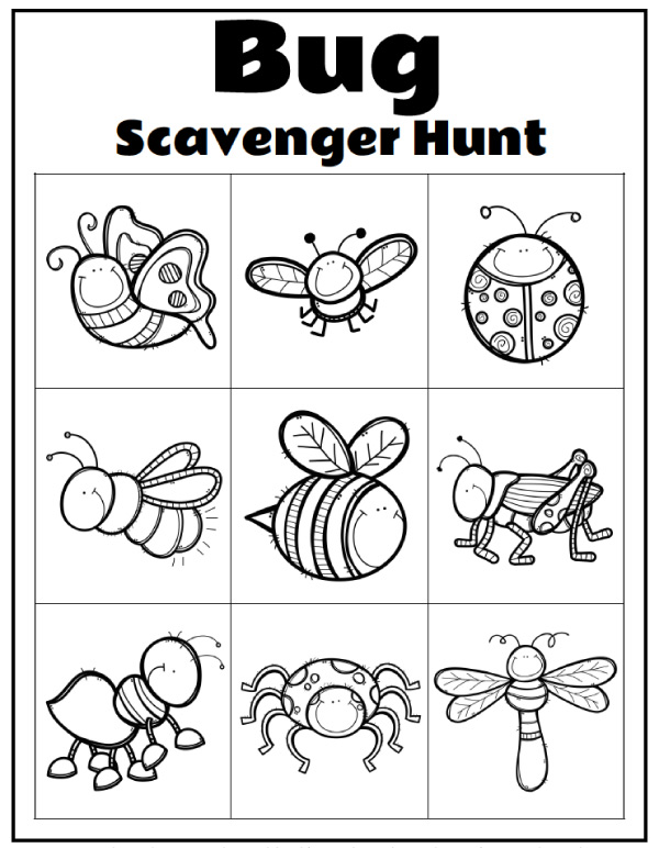 Insect Unit Study | Use these fun printable worksheets and games to learn more about insects! #stem #kindergarten #bugs #teacher #homeschool #preschool #worksheets