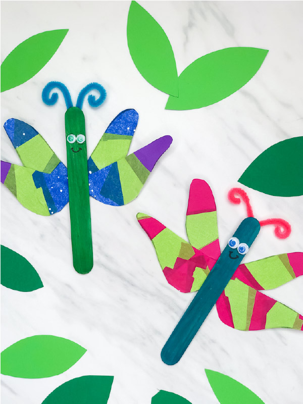 dragonfly art project