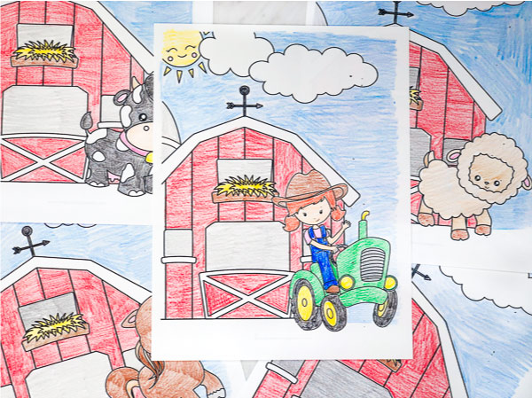 image about Free Printable Farm Animals known as Obtain These types of Totally free Printable Farm Animal Coloring Web pages
