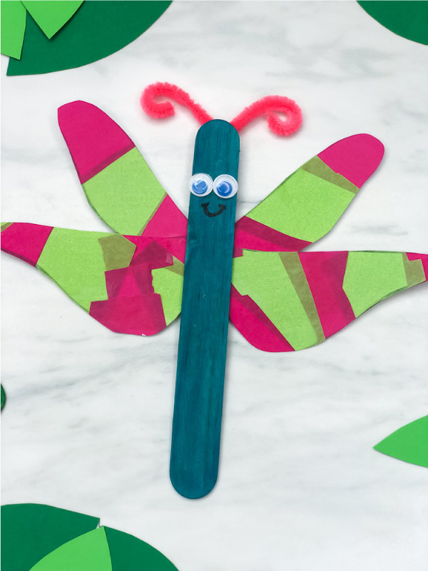 dragonfly art project for kids