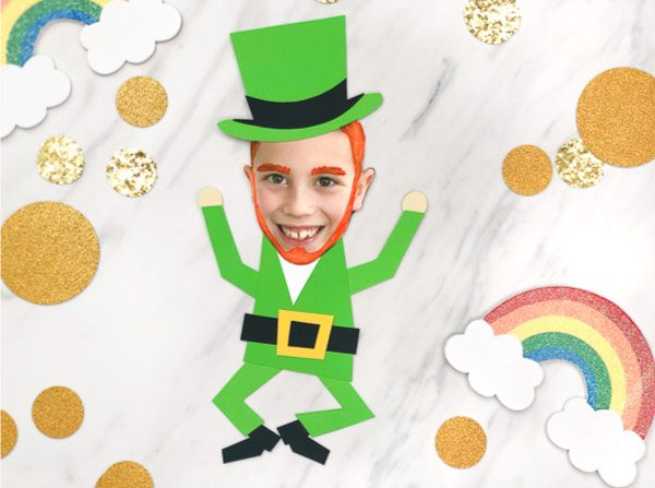 photo leprechaun craft