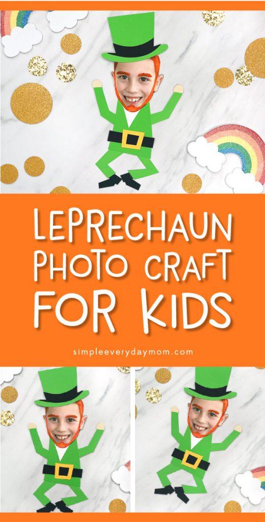 photo leprechaun craft
