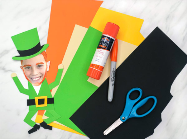 photo leprechaun craft supplies