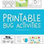 Bug Preschool Theme | Free Printable memory game #kids #kidsactivities #insects #worksheetsforkids #teaching #homeschool #preschool