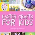 Easy Easter Crafts For Kids | Find the perfect DIY Easter craft from one of these fun ideas. They're great for doing at home or at school. #kids #kidscrafts #craftsforkids #ece #earlychildhood #easter #eastercrafts #handprintcrafts #bunnycrafts #ideasforkids #kindergarten #preschool #toddlers