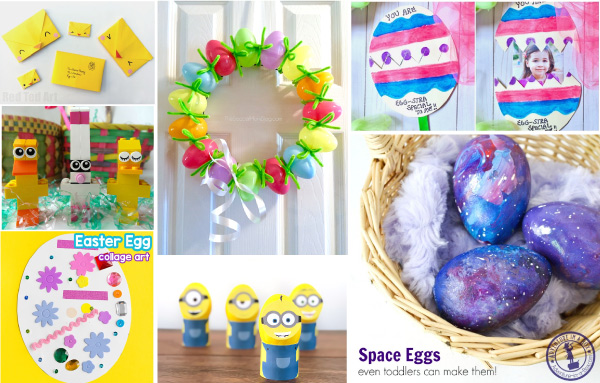 25 Easy Easter Crafts For Kids Perfect For Preschool Kindergarten