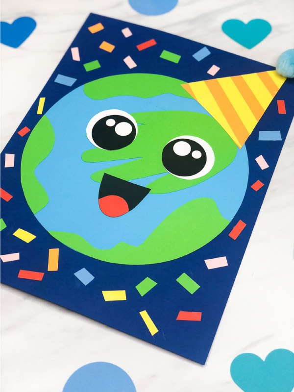 Make This Handprint Earth Craft For Earth Day Celebrations