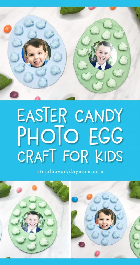 Easter Crafts | This DIY Easter egg craft for kids is easy for children of all ages to make. Simple enough to make at home, in the classroom or at church and makes a cute gift for Mom and Dad! #kids #earlychildhood #classroom #children #easteregg #easter #eastercrafts #kindergarten #teachingkindergarten #kidscrafts #easykidscrafts #easycraftsforkids
