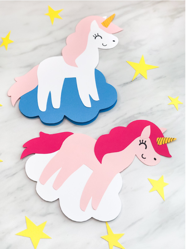 DIY Unicorn Card Craft For Kids