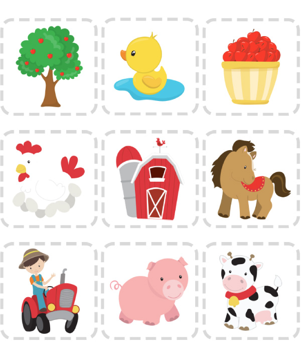 image regarding Animals Printable identified as Entertaining Enlightening Farm Animal Printables For Preschool
