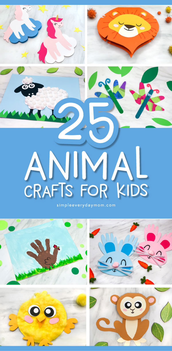 8 animal crafts pictures