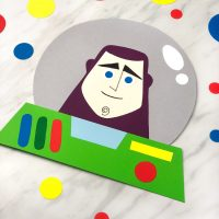 Buzz Lightyear Craft For Kids (With Free Template)
