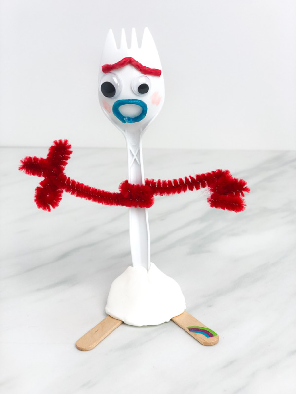 diy forky toy