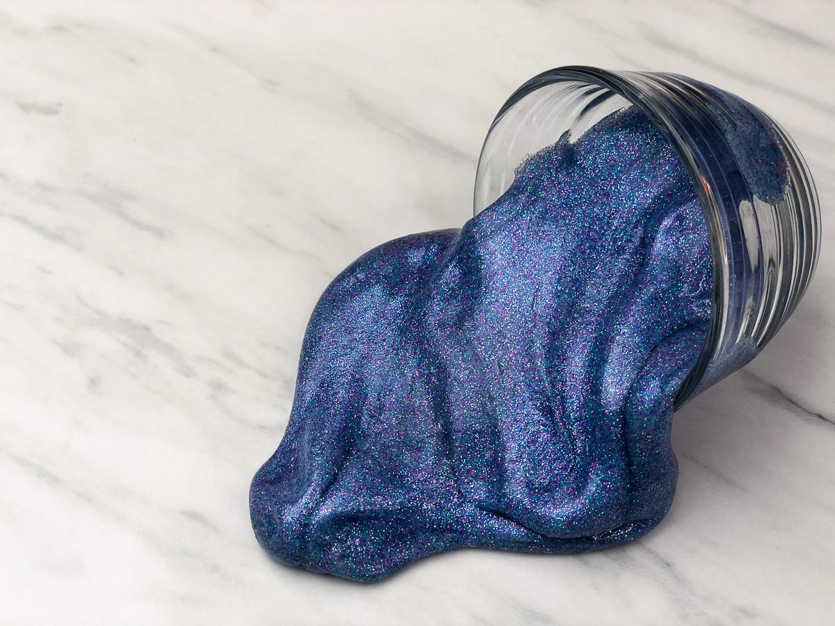 How To Make Galaxy Slime Without Borax