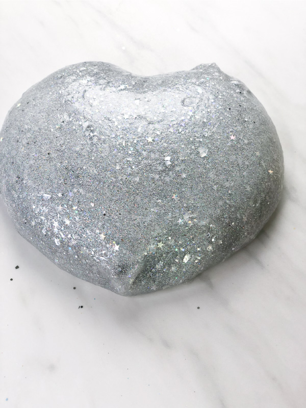 3 Ingredient Holographic Glitter Slime Recipe Kids Will Love