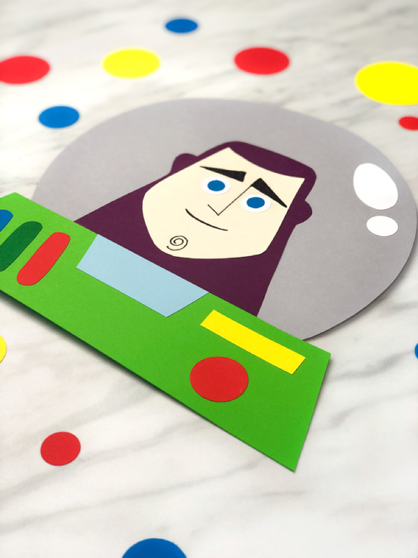 buzz lightyear papercraft
