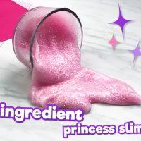Easy 3 Ingredient Princess Slime Recipe