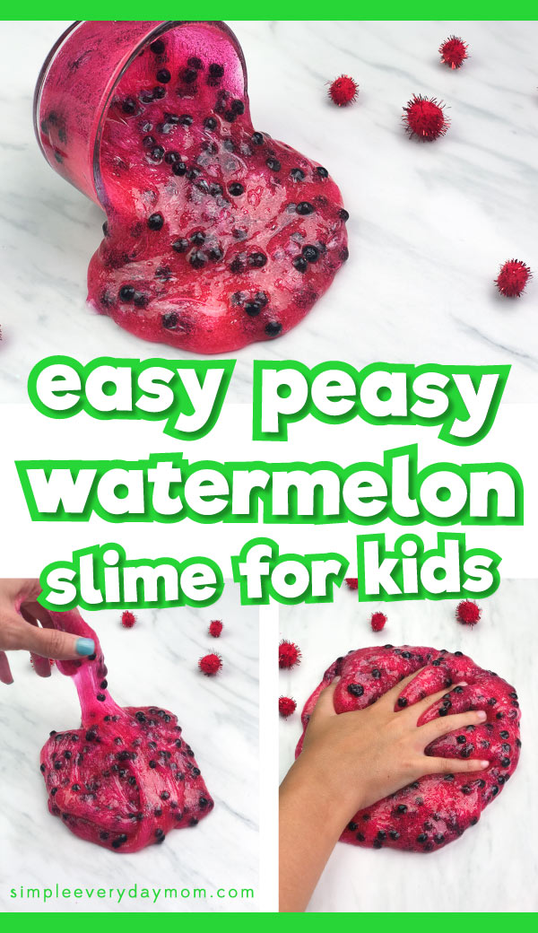 watermelon slime recipe
