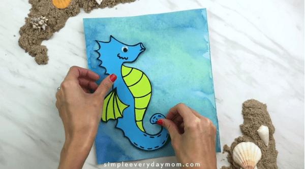 seahorse art preschool