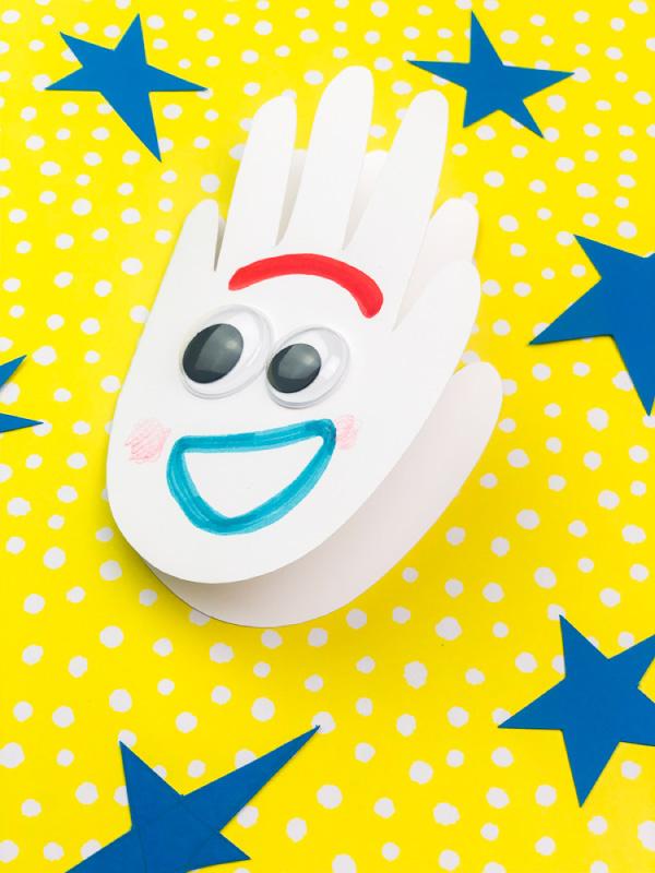 toy story kids crafts forky craft