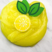 Lemon Jello Slime Recipe For Kids