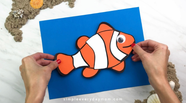 easy clownfish craft for preschool easy clownfish craft for preschool