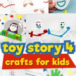 toy story 4 crafts for kids