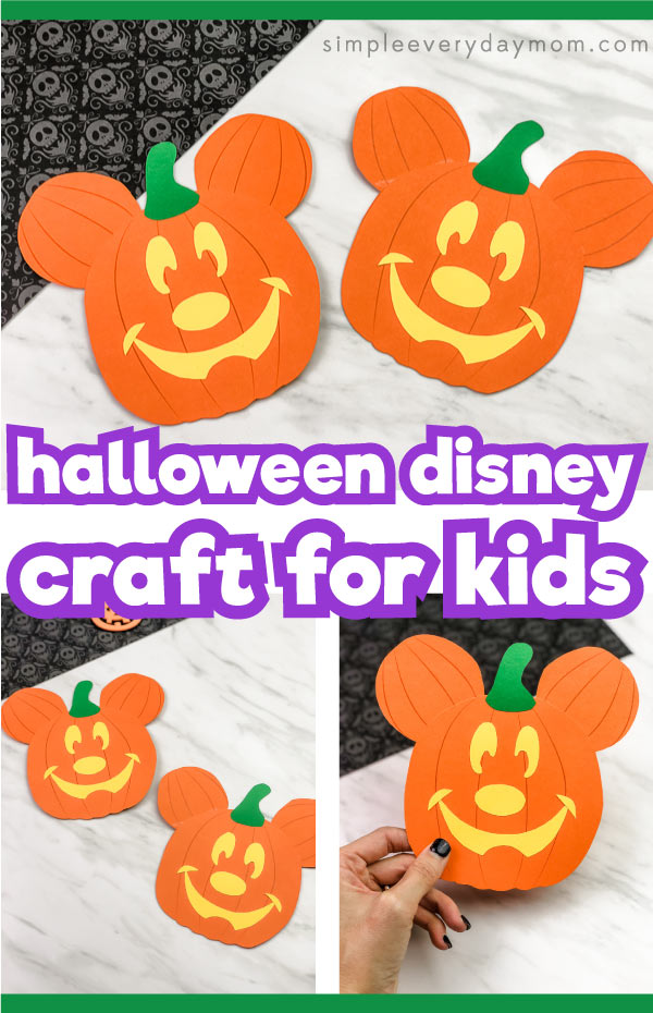 mickey mouse pumpkin craft