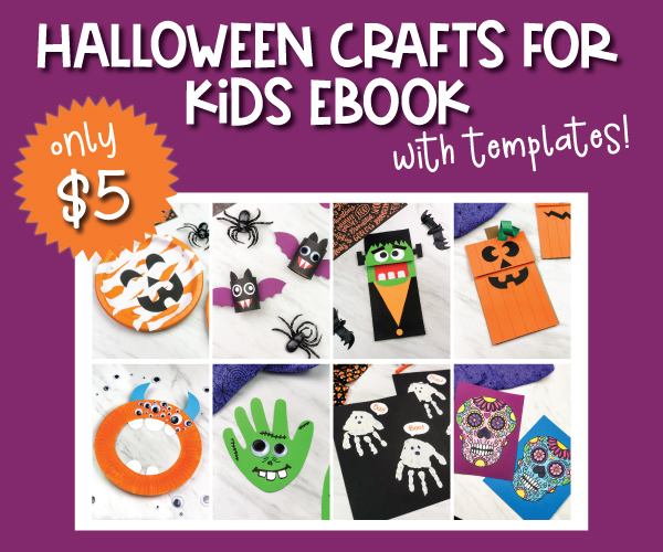 halloween crafts ebook image collage