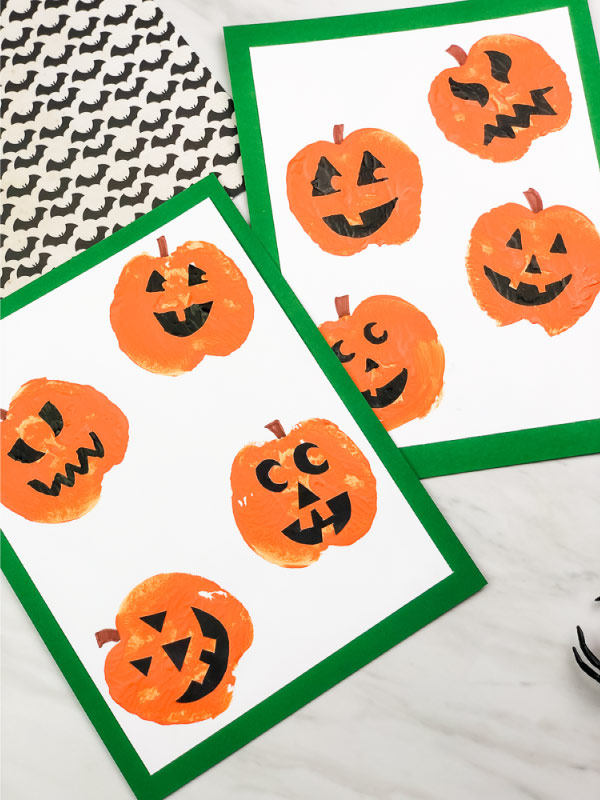 pumpkin craft for preschool