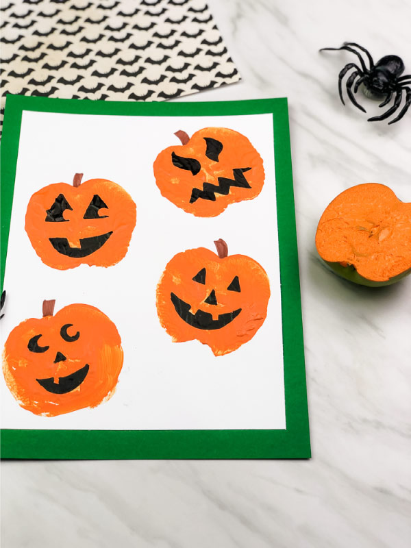 pumpkin art project for kids