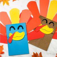 Brown Paper Bag Turkey Craft