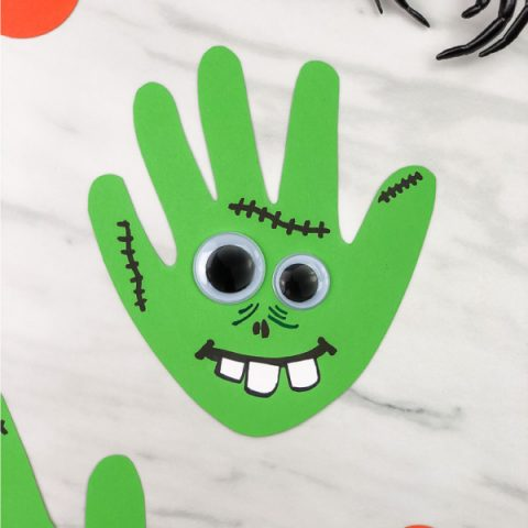 Handprint Zombie Craft