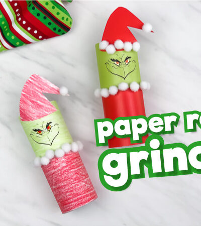 toilet paper roll grinch craft