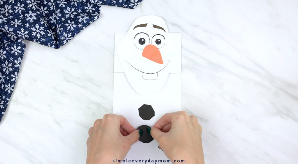 frozen 2 olaf craft