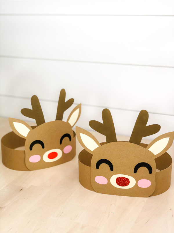 reindeer headband craft for christmas