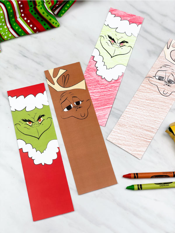 free printable grinch bookmarks