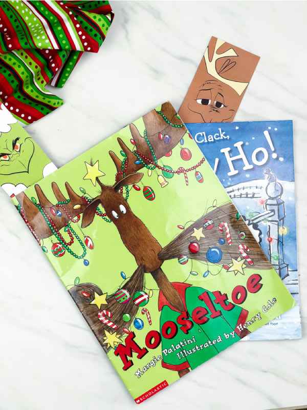 free printable grinch and max bookmarks