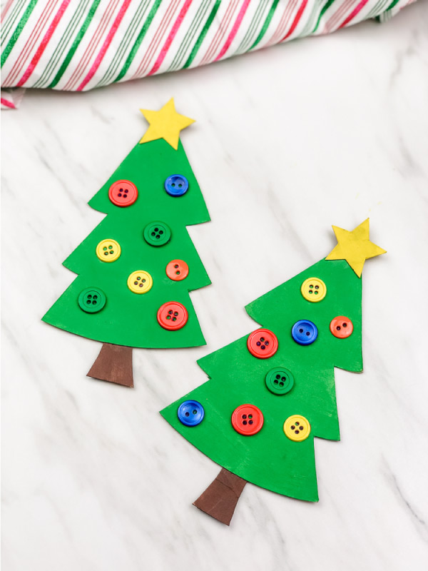 xmas tree craft for kids