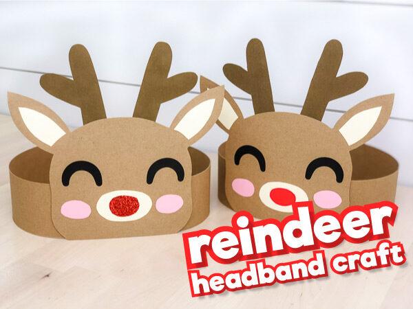 reindeer headband craft