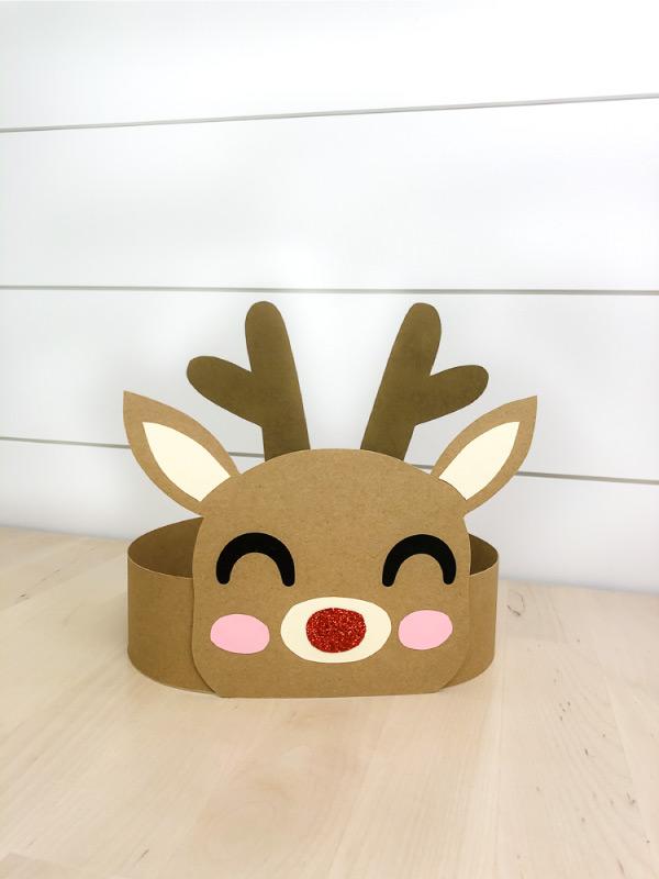 reindeer headband free printable