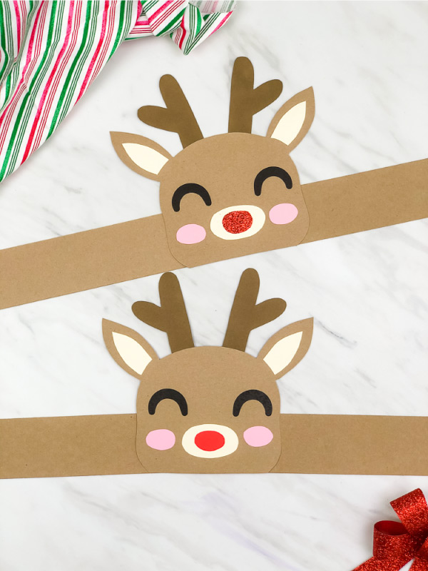 rudolph the red nosed reindeer headband