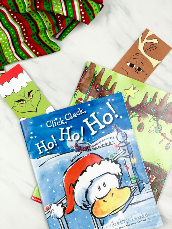 grinch bookmarks