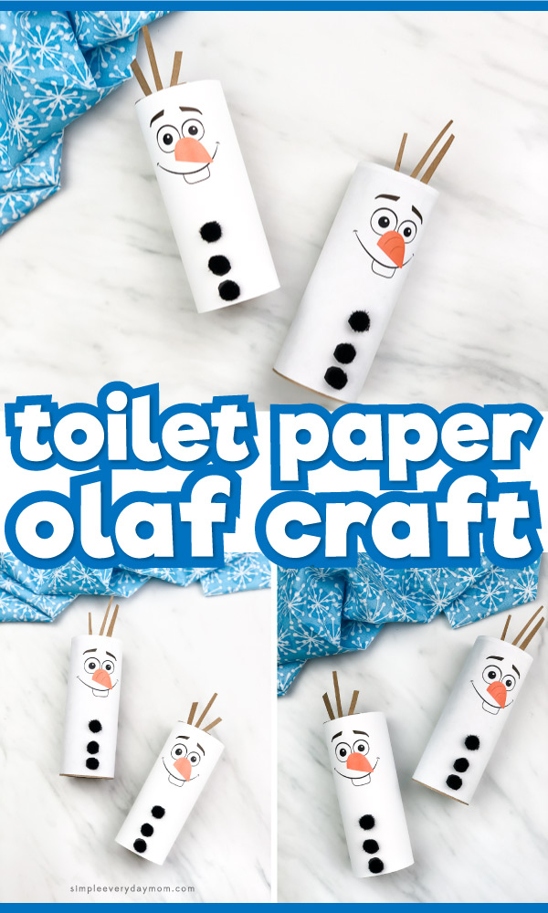 toilet paper olaf craft
