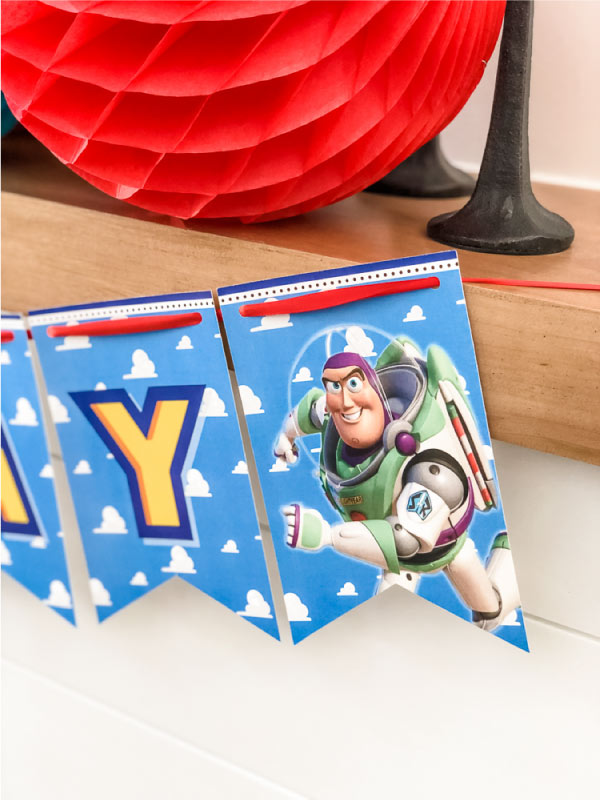 toy story 4 birthday banner